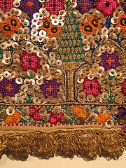 The Greek Institute / Silk and Silver Thread, Gold Braid and Sequins on Cotton / Thrace Contemporary Decorative Art, Naive Art, Needle And Thread, Fabric Art, Art World, Flower Art, Folk Art, Bohemian Rug, Greek Costumes