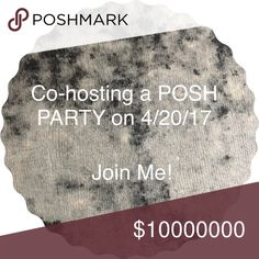 Get Ready!!!!!! Hey guys! I'm co-hosting my first posh party on the 20th. Please tag me in any items you may want to be chosen as a host pick. Leave a comment and tag the closets that you think deserve to be chosen for host picks! Bags