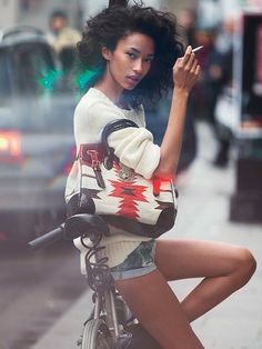 Anais Mali by Benny Horne for Vogue Spain March 2016