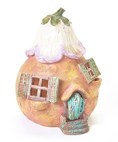 Look at this Gourd House Décor on #zulily today!