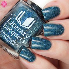 Literary Lacquers - Stars Walk Backward - My Favorite Things March 2016