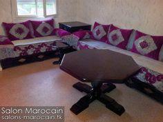 Salon marocain and salons on pinterest for Salon marocain aulnay sous bois