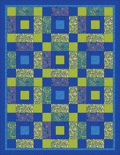 Free Quilt Pattern: Venetian Quilt - I Sew Free