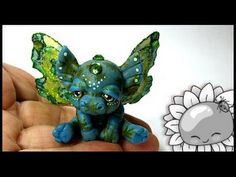Chibitude Update! Speed Sculpt of a Rainbow Chibi Butterfly #20150322027 - YouTube