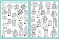 Models, Spring, Couture, Diagram, Design, Paper Pieced Patterns, Livres, Children, Templates