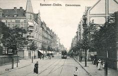HANNOVER Linden  1910 limmerstrasse