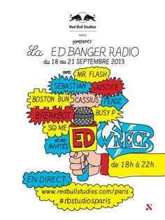 ED BANGER RADIO RED BULL STUDIO | FrenchBeats.