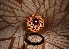 """Artist Przemek Krawczyński of Poland has created """"Calabarte"""" Decorative Carved Gourd Lamps"""