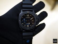 SIHH 2015 Live - Introducing the Panerai Luminor Submersible 1950 Carbotech