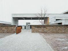 Aussegnungshalle in München-Riem   DETAIL Inspiration
