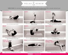 Before bed yoga sequence