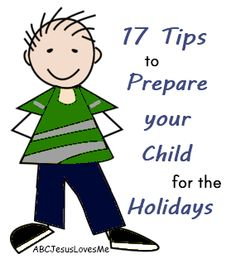 17 Tips to Help Your Child Succeed at Holiday Gatherings - Ideas for all children, especially those with SPD, Autism, and ADHD