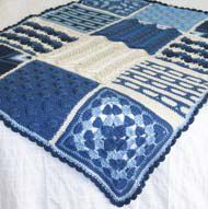 Crochet Afghan Free Pattern - great directions - I taught myself how to crochet with this pattern - you can, too! #crochetpatterns