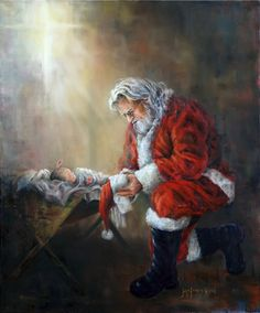 A  humble giver, honoring the Greatest Gift of all.
