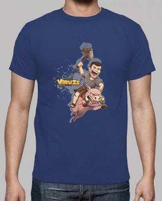 Prezzi e Sconti: #T-shirt da uomo blu byviruzz  ad Euro 19.90 in #Tostadora #T shirt uomo