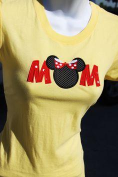MoM Minnie Mouse Ears Shirt.    Love it!