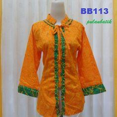 blus model batik modern online