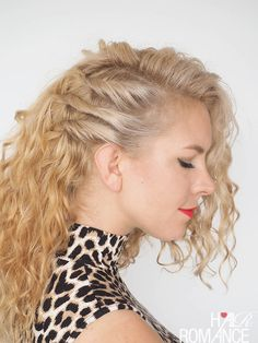 30 Curly Hairstyles in 30 Days - Day 20