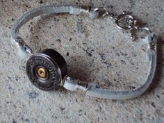 Reversible Rawhide Leather & Shotgun Shell by TLCampbellDesigns, $22.00