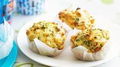 These zucchini and corn muffins make a great lunchbox snack for the kids... Or adults.