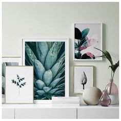 Find inspiration for creating a picture wall and collage of posters and art prints. Make a photo wall gallery with framed art. & Inspiration - How to create a big gallery wall. Mix your favourite ...