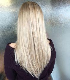 Pitkät vaaleat hiukset raidoitettu Olaplexin kanssa - highlights with olaplex #longblondhair #olaplex