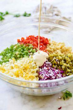 Classic Macaroni Salad Recipe She Wears Many Hats. Italian Pasta Salad Together As Family. Classic And Easy Macaroni Salad Recipe Sugar Soul. Home and Family Creamy Macaroni Salad, Classic Macaroni Salad, Best Macaroni Salad, Macaroni Salads, Macaroni Recipes, Casserole Recipes, Pickle Pasta Salad Recipe, Chicken Pasta Salad Recipes, Easy Salad Recipes
