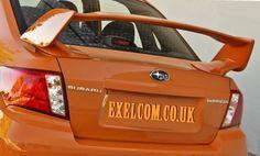 SUBARU Impreza 4dr WRX / WRX STI SEDAN 08+ TRUNK SPOILER £275 Wrx Sti, Subaru Impreza, Aftermarket Parts, Trunks, Drift Wood, Spare Parts, Tree Trunks