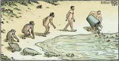 Evolução do homem... para pensar...