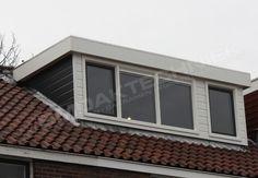 Dakkapel Gouda | BM DaktechniekDakkapel volledig afgewerkt met Keralit rabatdelen. Gehele voorzijde dakkapel in één kleur. Omlijsting kunststof kozijn (voorpuntjes) en middenpaneel in kleur Ral 9010 wit.