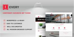 Every-Corporate Business Theme (Business) - http://wpskull.com/every-corporate-business-theme-business/wordpress-offers