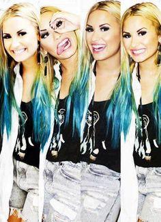 Demi Lovato... love this hair! @Demi Bredefeld Bredefeld Lovato