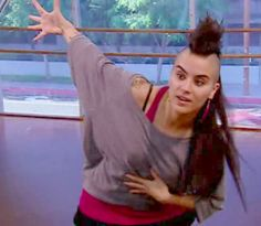 Sonya Tayeh - craziest choreographer ever. Her routines on SYTYCD is craziee...