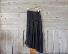 vintage Comme des Garçons asymmetrical skirt