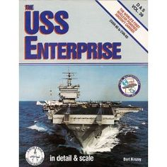 USS Enterprise in Detail & Scale, CVAN-65 to CNV-65