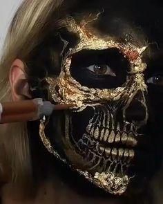 Clown Makeup, Costume Makeup, Voodoo Makeup, Face Off Makeup, Makeup Stuff, Makeup Eyes, Beauty Makeup, Amazing Halloween Makeup, Halloween Face Makeup