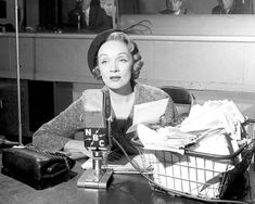 The famously reclusive actress Marlene Dietrich, in her 1965 appearance on the show, said she was frightened of nothing, and asked for a mementoes box as her luxury.