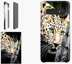 'Leopard iPhone Case' Case/Skin for Samsung Galaxy by DAM Creative Galaxy Phone Cases, Samsung Galaxy, Samsung Cases, Iphone Cases, Framed Prints, Canvas Prints, Art Prints, Ipad Case
