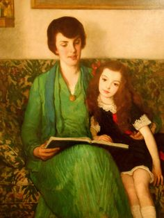 Reading and Art: Francis Luis Mora