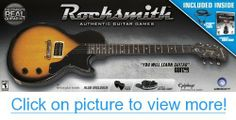 Rocksmith is the fastest way to learn guitar. Plug any real guitar or bass into your console or PC, have fun & really learn to play! Xbox 360, Playstation, Les Paul Jr, Classic Rock Bands, Guitar Kits, Reading Music, The Black Keys, Epiphone, Game Design