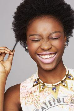 Natural hair is beautiful at any length!