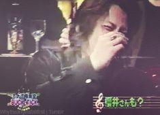 BUCK-TICK Atsushi Sakurai ♥ cute laugh gif