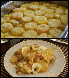 """""""Francouzské"""" brambory trochu jinak No Salt Recipes, Snack Recipes, Cooking Recipes, Snacks, Czech Recipes, Ethnic Recipes, Pecan Pralines, Side Dishes, Food And Drink"""