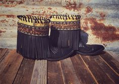 Amazing custom Gypsy Boots! Email us to find out how to get your own pair!