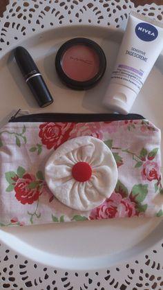 Make-up tassen - Schminktäschchen 12 - Een uniek product van maehstuebchen op DaWanda