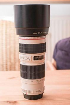 Canon EF 70-200 1:4L  Kaum benutzt, optisch wie technisch einwandfrei in OVP mit Rechnung.