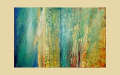 Acrylic Abstract Painting Large Original Art by avaavadonstudio, $650.00