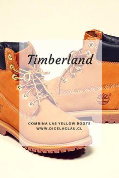 Las yellow boots de Timberland y los looks que puedes lograr.