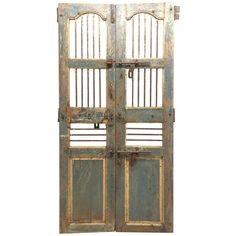 Shop antique and modern panelling and other building and garden elements from the world's best furniture dealers. Door Gate, Garden Doors, Modern Door, Architectural Salvage, Cool Furniture, Tall Cabinet Storage, Architecture, Antiques, Gates
