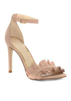 Jessica Simpson Women's Silea High Heel - Nude Blush - 8.5M